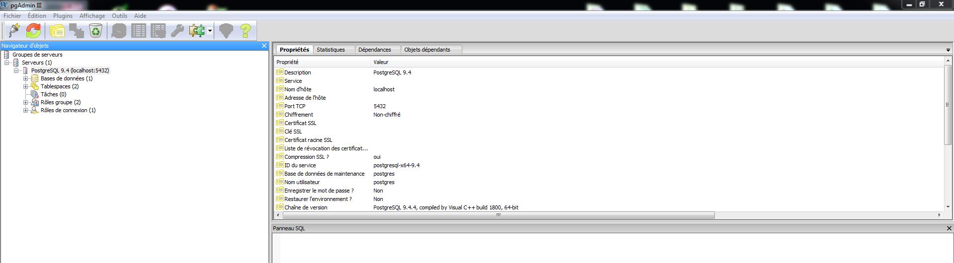 Installer PostgreSQL / PostGIS avec Apache et PHP sur