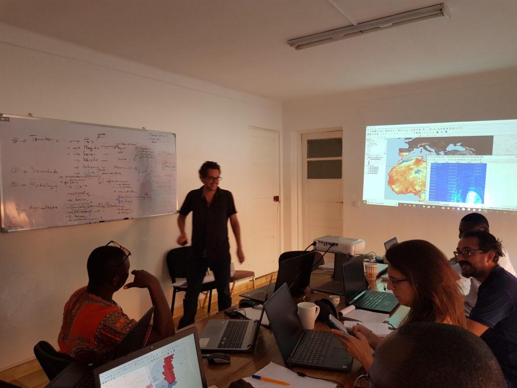 Formation QGIS en Afrique