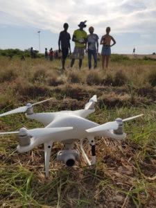 Géomatique et drone