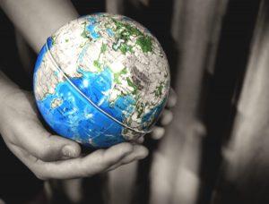 géomatique et globe terrestre