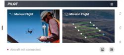 Drone et modes de vols