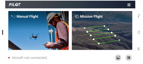 DJI Pilot Modes des vols du drone