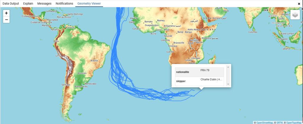 Vendée Globe parcours des skippers