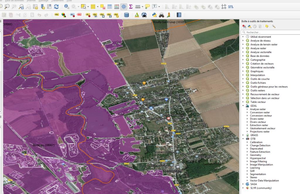 QGIS cartographie